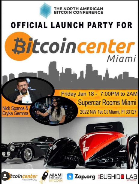 Bitcoin Center Miami
