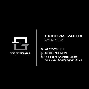 Cartão GZ Fisioterapia