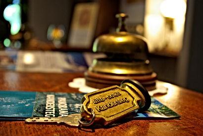 Reception im Hotel Alfa Soleil in Kandersteg