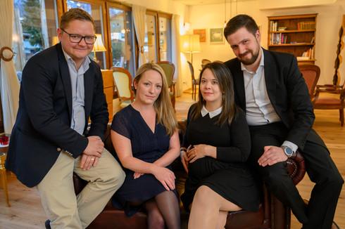 Ihre Gastgeber im Hotel Alfa Soleil in Kandersteg