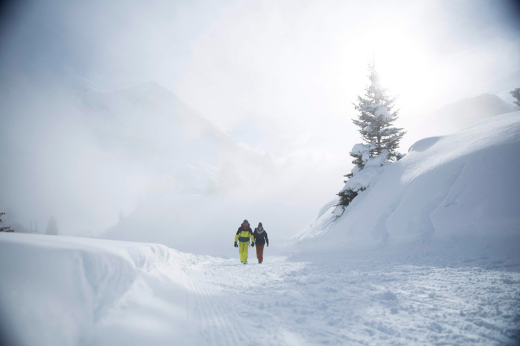 Winterwander Kandersteg