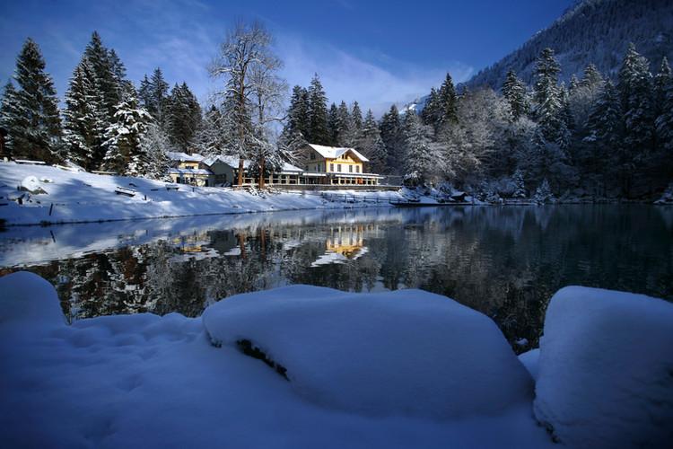 Blausee Winter