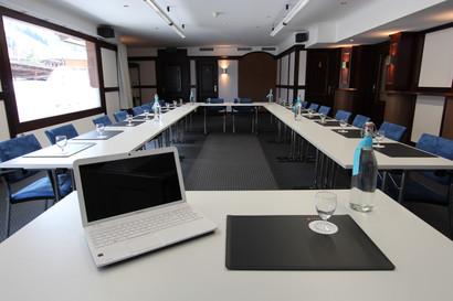 Seminarraum im Hotel Alfa Soleil in Kandersteg in Kandersteg im Berner Oberland