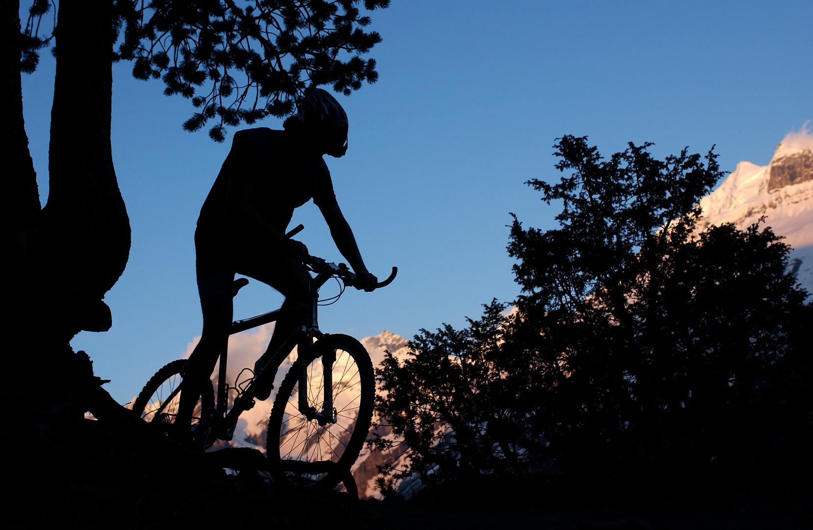 Moutainbiken in der Region Kandersteg