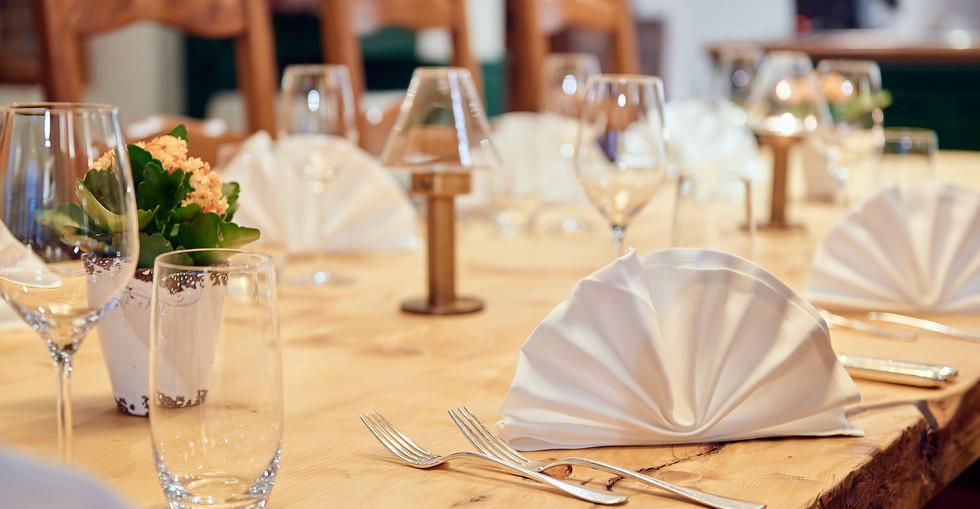 Nico's Restaurant, table covered.jpg