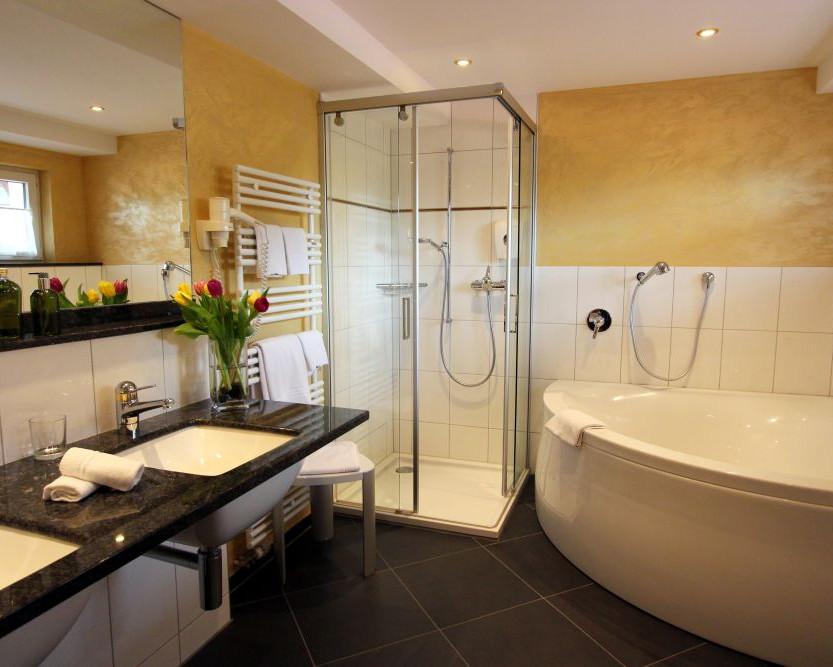 Salle de bain de la suite Belle étage