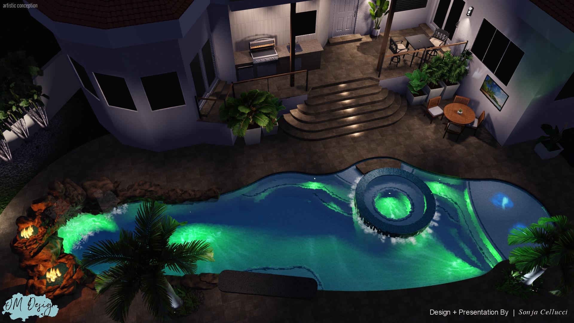 Koven's Residence - Rev 4, Landing + Ste