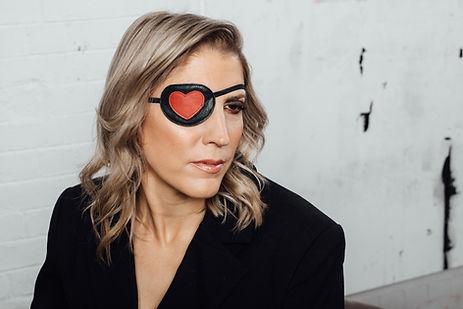 Sarah Caltieri eyepatch