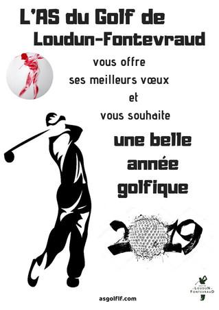 Bonne année golfique ...