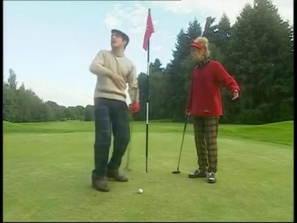 Chouchou et Loulou au golf