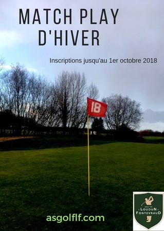 RAPPEL: Match Play d'Hiver