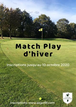 MATCH PLAY D'HIVER 2020-2021 Dames et Messieurs.