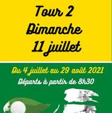 Le Tour 2 de notre Eclectic d'été c'est le DIMANCHE 11 juillet !