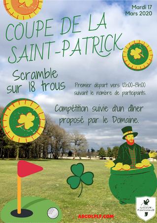 Coupe de la St Patrick le mardi 17 mars.