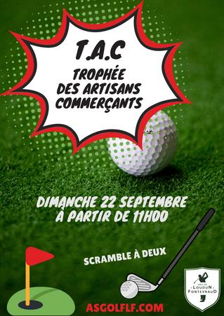 T.A.C Trophée des Artisans Commerçants le dimanche 22 septembre à partir de 11h00.