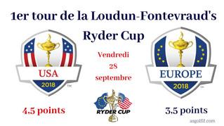 Résultats du 1er Tour de la Loudun-Fontevraud's Ryder Cup.