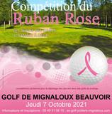 Pour vous, Mesdames : Compétition du Ruban Rose le 7 octobre au Golf de Mignaloux Beauvoir.