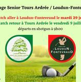 Challenge senior Tours Ardrée/Loudun Fontevraud.