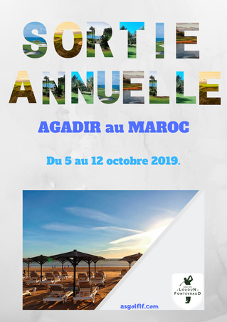 Sortie annuelle au Maroc.