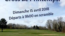 Cross de Printemps, le dimanche 15 avril 2018.