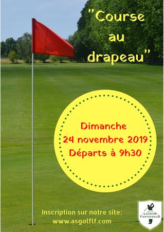 Résultats Course au drapeau du dimanche 24 novembre.