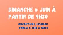 L'AS vous informe : Trophée Handicap dimanche 6 juin.