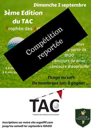 Annulation du Trophée Des Artisans Commerçants et remplacé par un Trophée Handicap