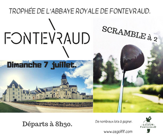 Trophée de l'Abbaye Royale de Fontevraud LE DIMANCHE 7 JUILLET