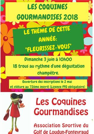 Clôture des inscriptions des Coquines Gourmandises.