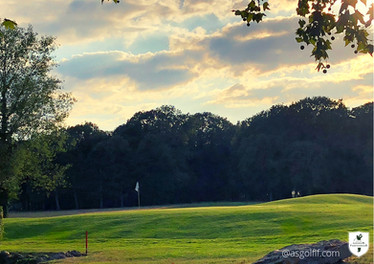Golf Loudun-Fontevraud Green du 9