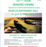 RAPPEL Tour Seniors Vienne
