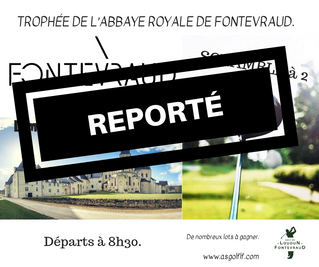 IMPORTANT Report du Trophée de l'Abbaye Royale de Fontevraud du dimanche 7 juillet, Trophée hand