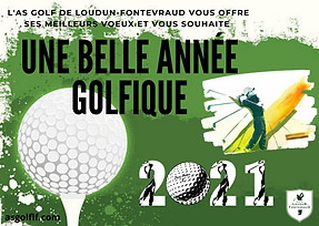 L'AS Golf de Loudun-FONTEVRAUD vous souh