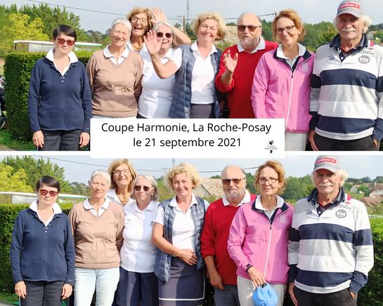 Coupe Harmonie, La Roche-Posay le 21 septembre 2021