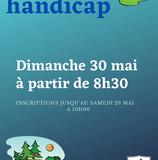 Trophée Handicap le dimanche 30 mai à partir de 8h30.
