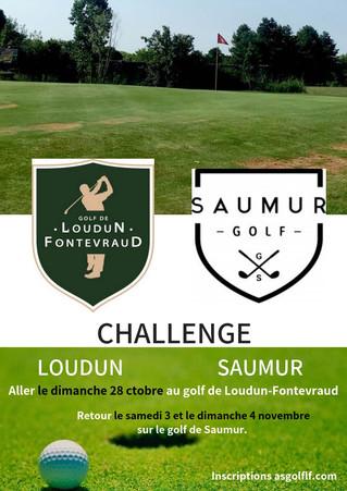 1er Tour Challenge Loudun-Saumur.