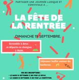 MODIFICATION DE LA DATE DE LA FETE DE LA RENTREE : le dimanche 19 septembre.