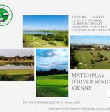 Championnat Matchplay d'hiver Seniors Vienne : constitution d'une équipe mixte (Dames / Messieurs)