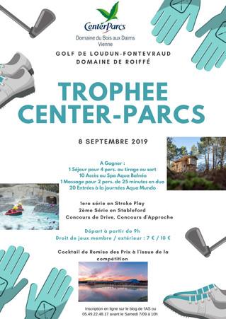 Trophée Center-Parcs le dimanche 8 septembre à partir de 9h00.