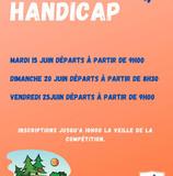 Trophées Handicap du mois de juin.