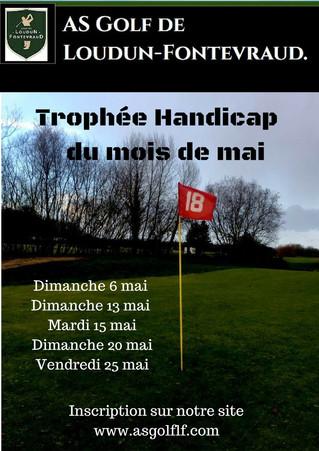 Trophée Handicap du mois de mai.