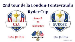 Résultats du 2nd Tour de la Loudun-Fontevraud's Ryder Cup.