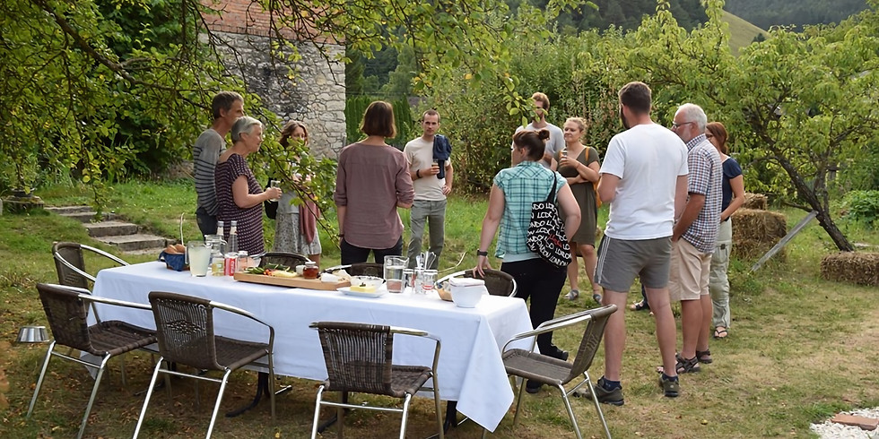 Dorfschmiede-Café im Apfelgarten