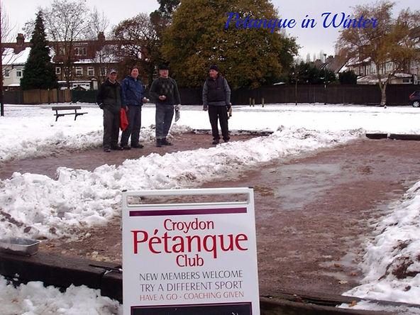 Petanque in Croydon