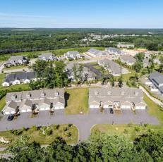 Plainville multibuilding neighborhood aerial 8