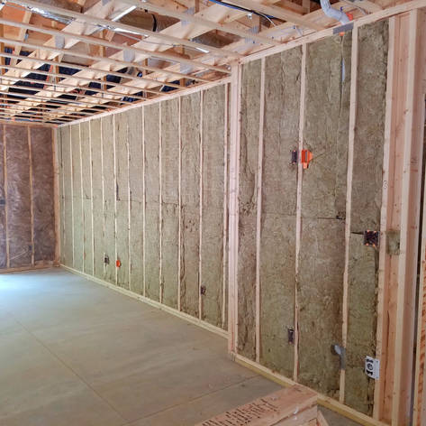 Insulation in framing