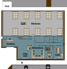 Building 5 - Footprint
