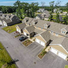 Plainville multibuilding neighborhood aerial 7
