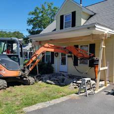 House overhang upgrade