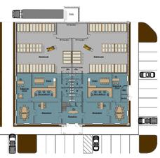 Building 9 - Footprint